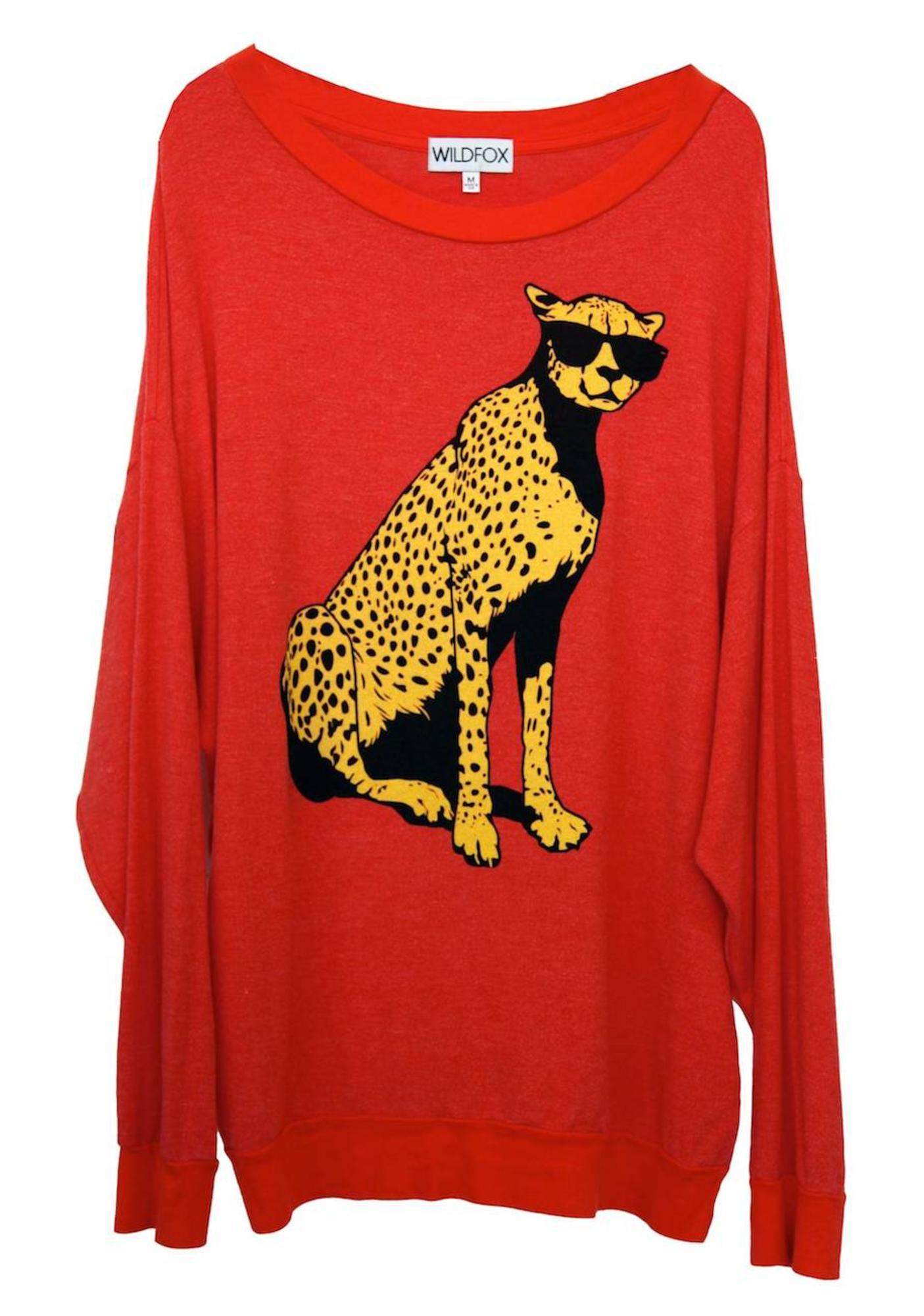Wildfox Couture Jungle Cat Road Trip Sweater Dress