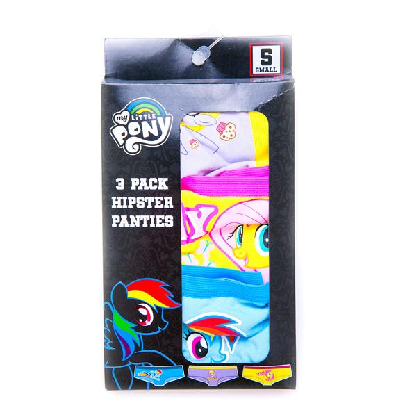 Undergirl Rainbow Dash Little Pony Panty 3-Pack Set
