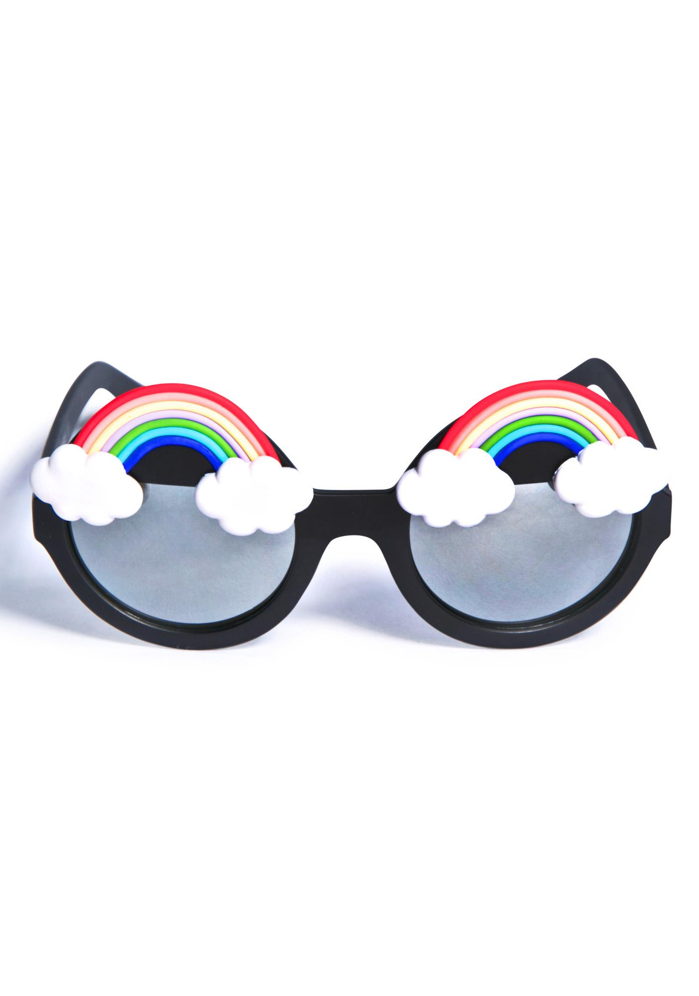 Gasoline Glamour Fantasia Rainbow Wilde Sunglasses