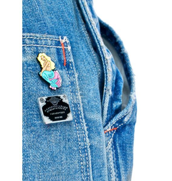 Punky Pins Mermaid Babe Pin