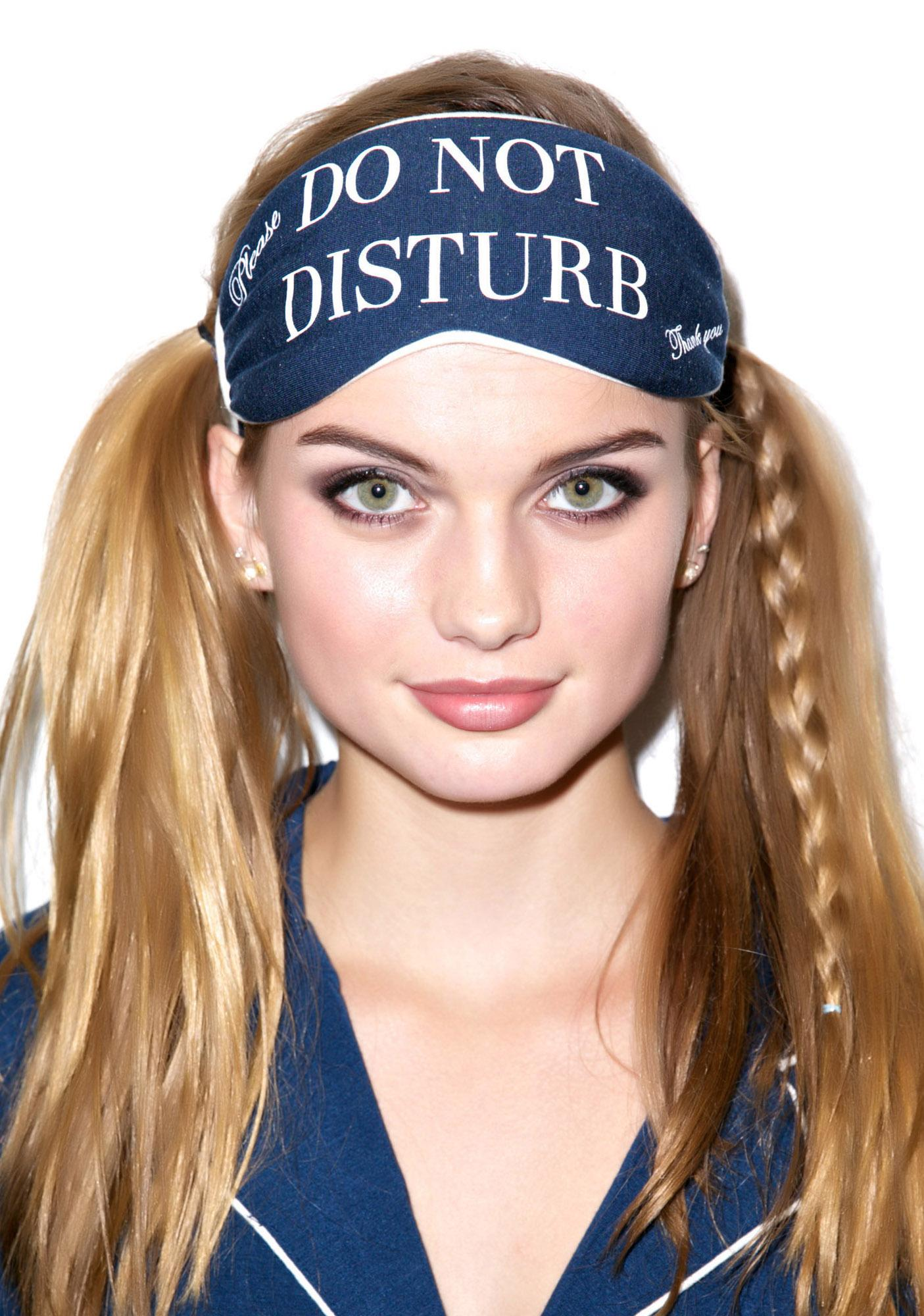 Wildfox Couture Do Not Disturb Eye Mask