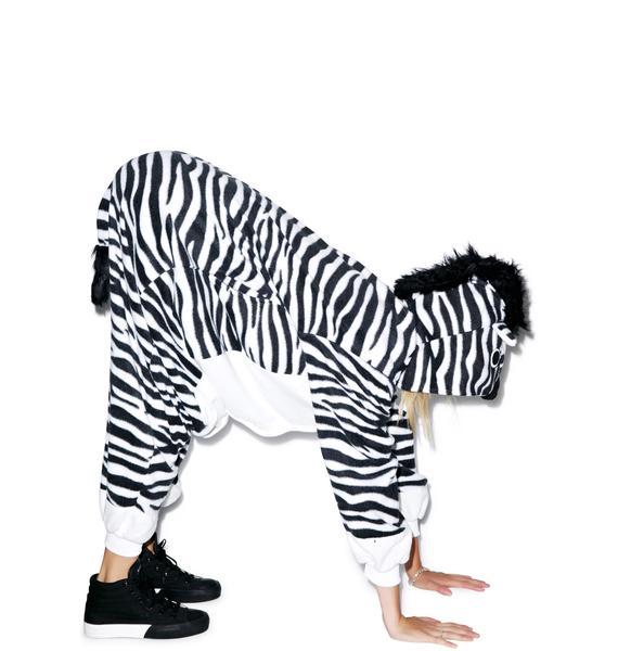 Sazac  Zebra Kigurumi