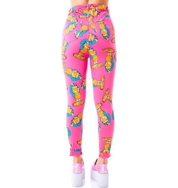Lazy Oaf x Garfield Walk Like Pants