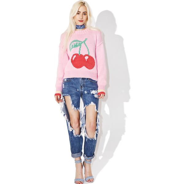 Wildfox Couture Cherries Sweater
