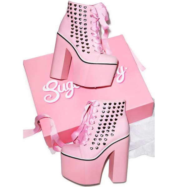 Sugarbaby Kawaii Sweet Street Platform Sneakers