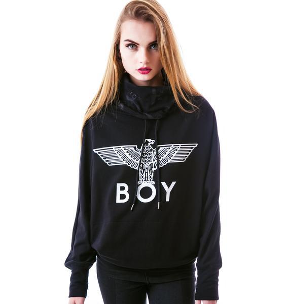 BOY London Eagle BOY Batwing Turtleneck Sweater