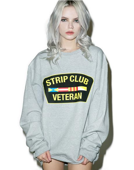 Strip Club Veteran Sweatshirt