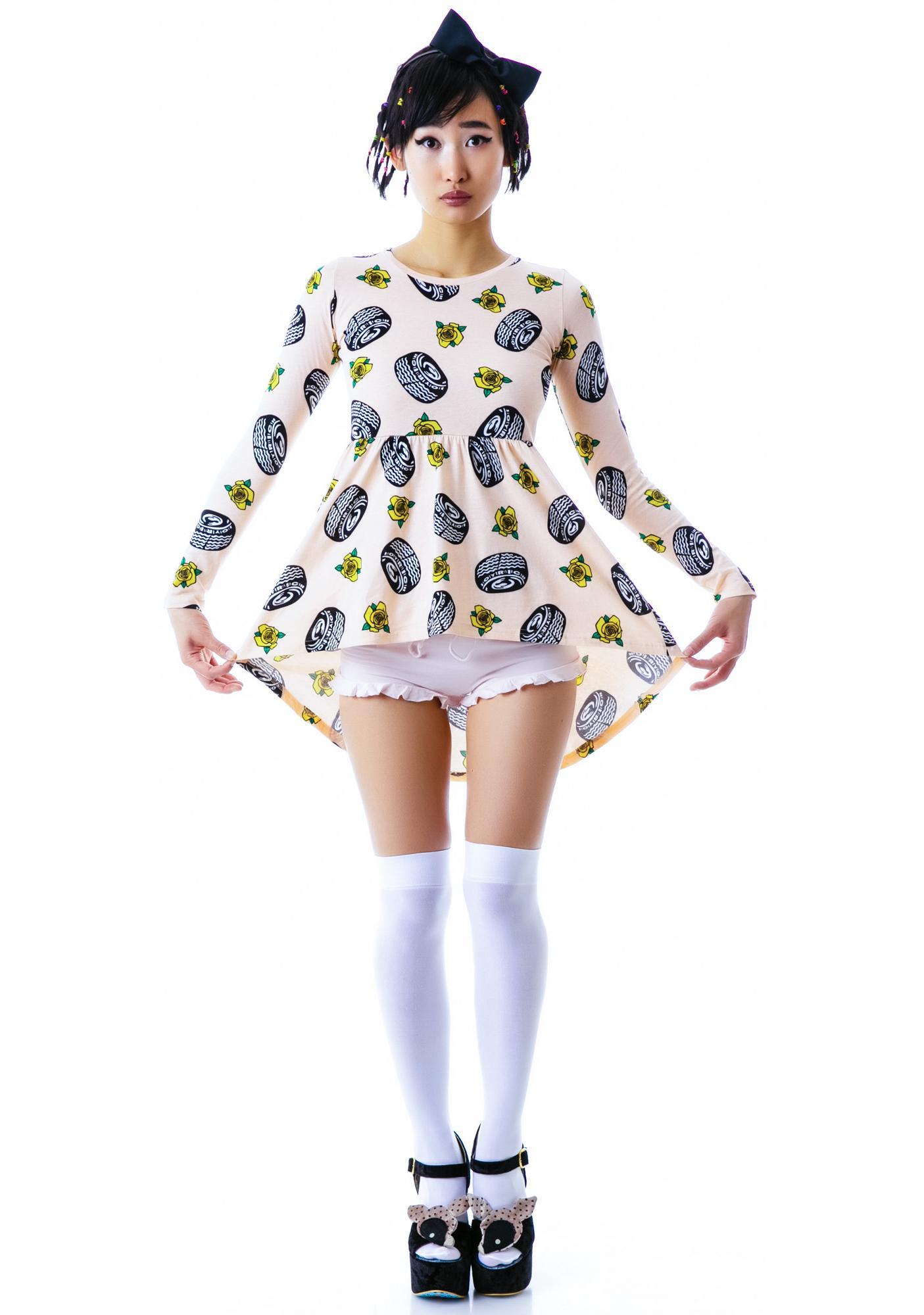 Joyrich Tire Parade Tunic Dress