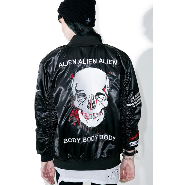 Alien Body Bomber Jacket