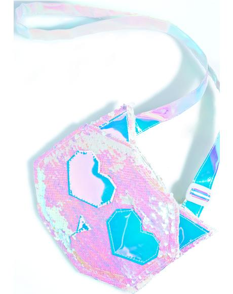 Feline Sequin Bag