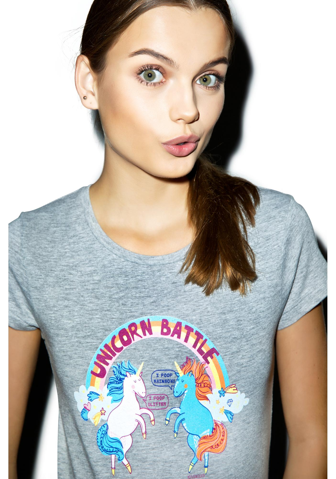 Battle Of The Unicorns Tee