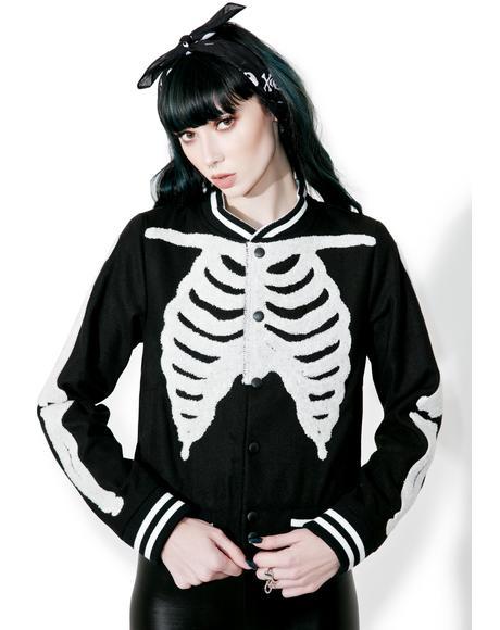Wishbone Varsity Jacket