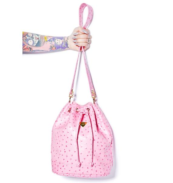 Joyrich Ostrich Bucket Bag