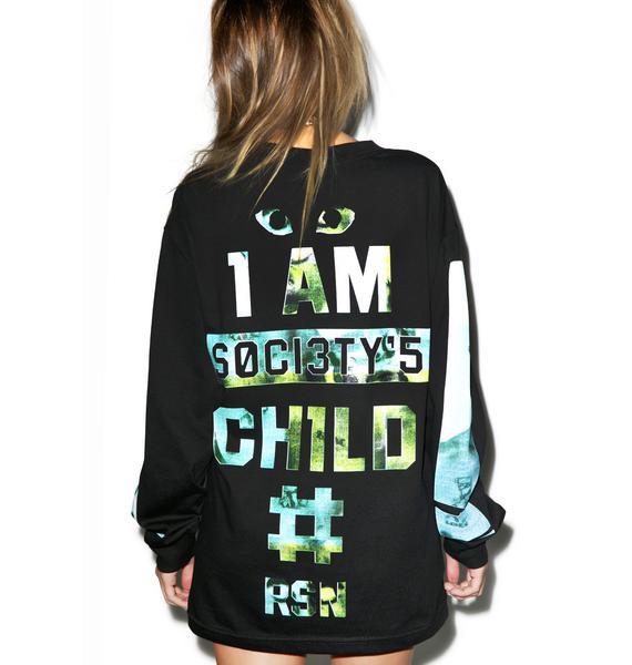 Reason Society's Child Long Sleeve Shirt