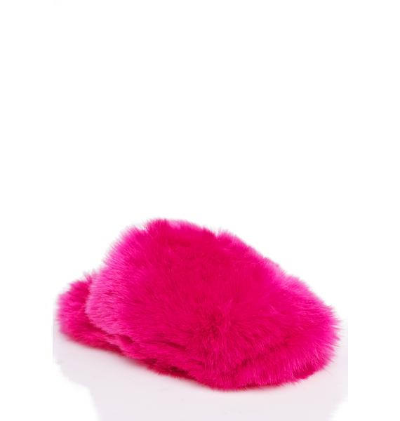 Lust For Life Stargirl Fuzzy Slippers