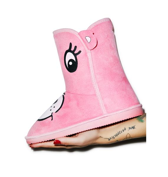 Iron Fist Care Bears Stare Fugg Boots