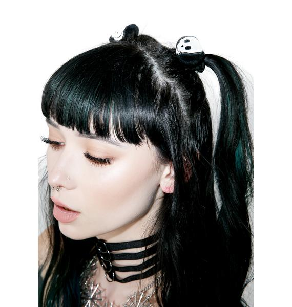 Spooky Skelly Hair Ties