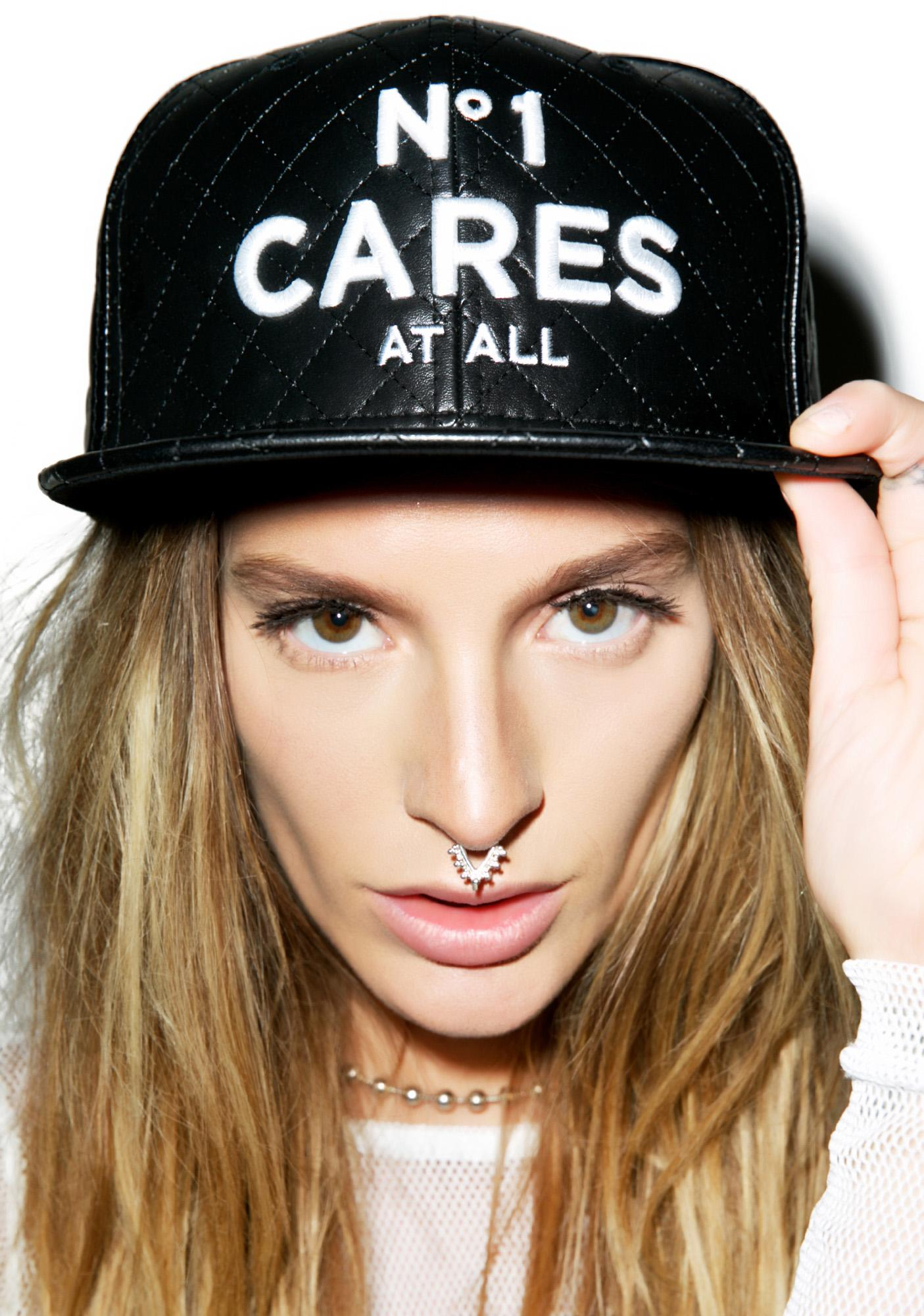 Reason No1 Cares Quilted Snapback