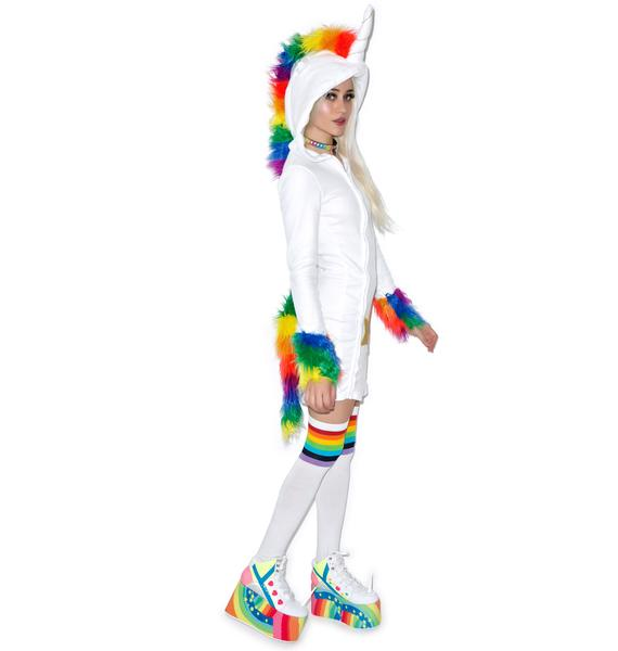 Unicorn Cuddles Costume