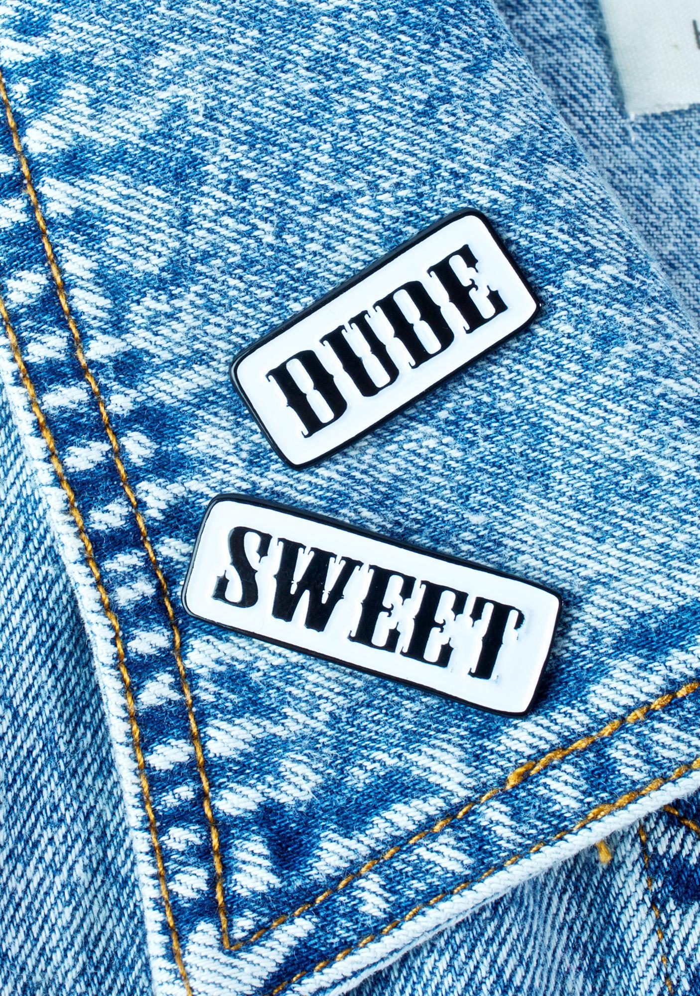 Band of Weirdos Dude Sweet Enamel Pin Set