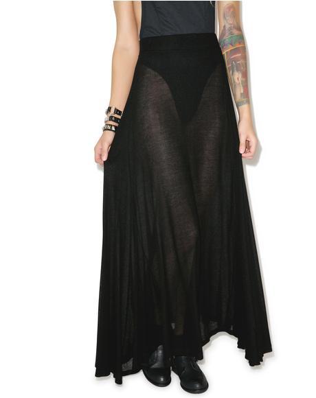 Scripted Wildfox Groupie Skirt