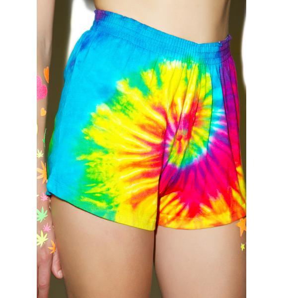 Reactive Rainbow Shorts