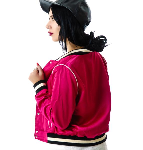 Pink Ladies Varsity Jacket