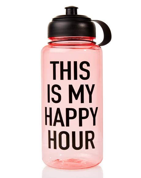 Happy Hour Water Bottle