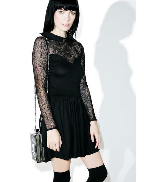 Salvation Lace Skater Dress