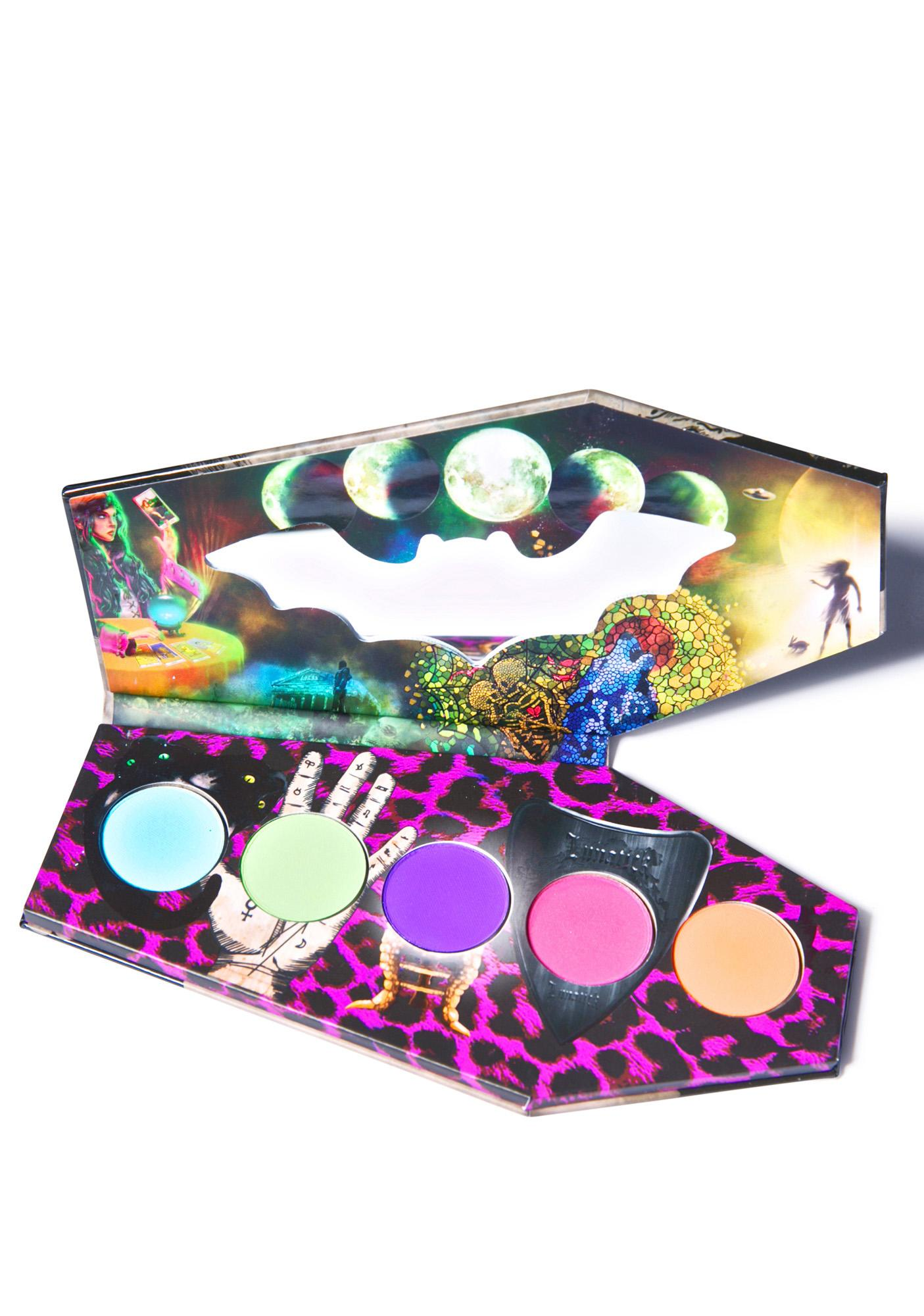 Lunatick Cosmetic Labs Hocus Pocus Coffin Eye Shadow Palette