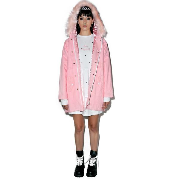 Lazy Oaf Waste Of Time Jacket
