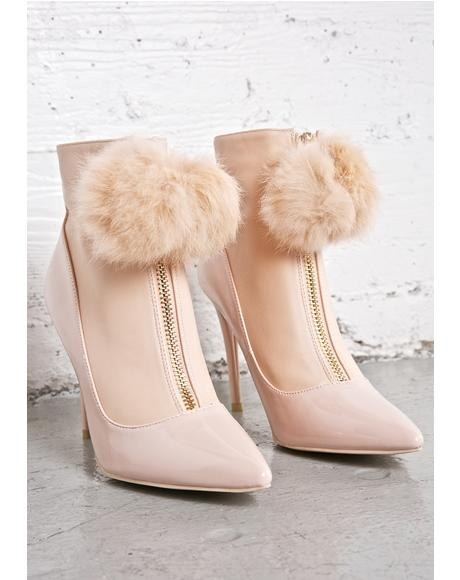 In Focus Puff Booties