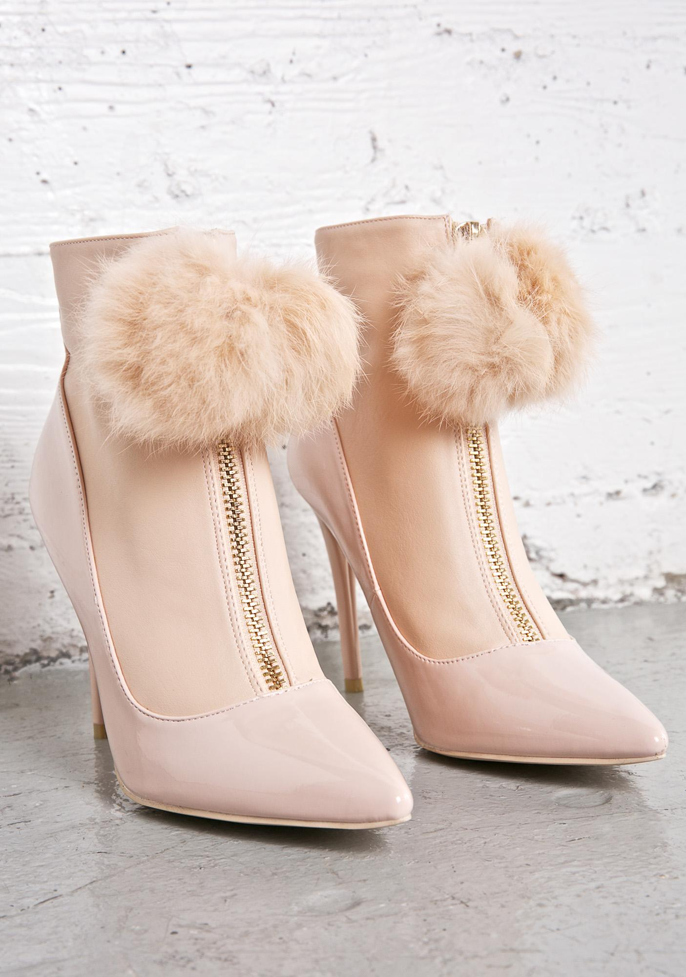 Privileged In Focus Puff Booties
