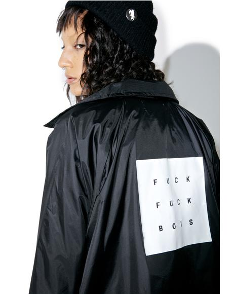 Fuck Bois Coaches Jacket