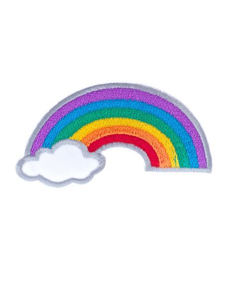 Rainbow Sky Pin