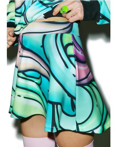 Starflower Skater Skirt