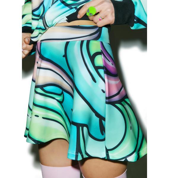 Alice Vandy Starflower Skater Skirt