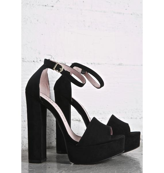 Chinese Laundry Smoke Avenue Platform Heels
