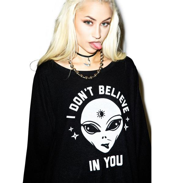 Social Decay No Beliefs Sweater