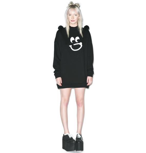 Lazy Oaf Bear Pom Sweater