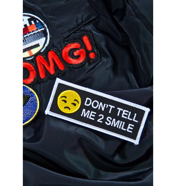 Witch Worldwide Don't Tell Me Iron-On Patch