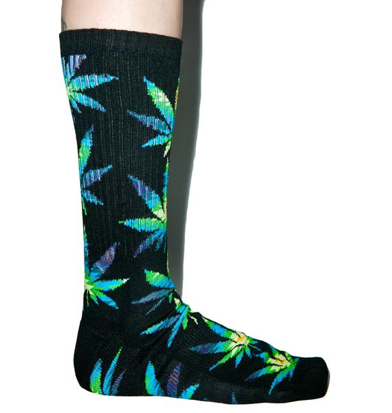 HUF Cabazon Plantlife Crew Socks