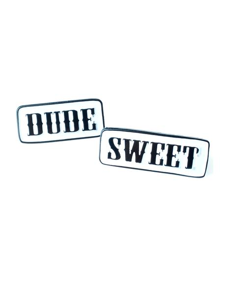 Dude Sweet Enamel Pin Set