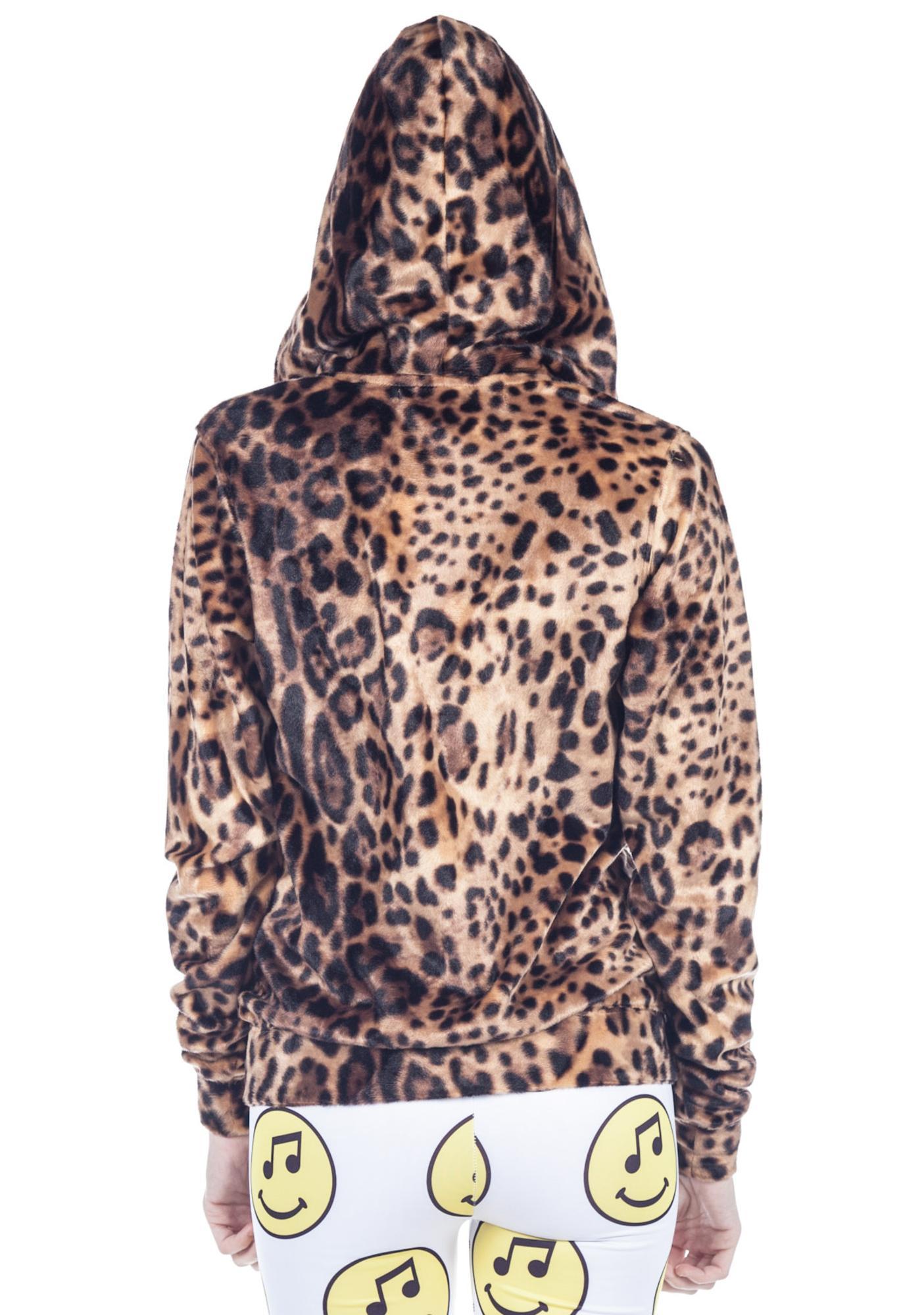 Joyrich Leopard Spot Hoodie