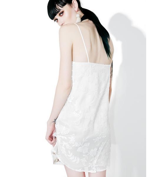 Heroine Lace Slip Dress