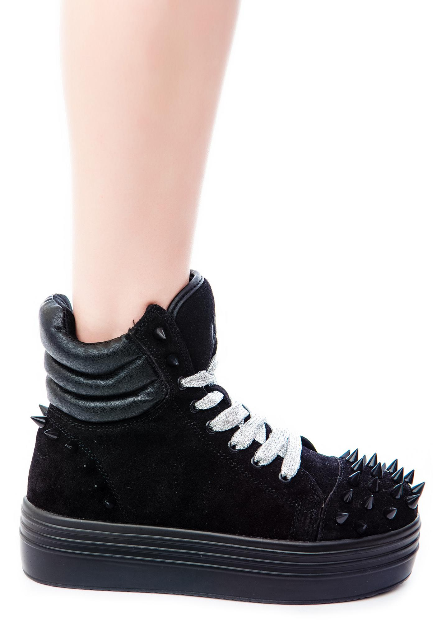 Lola Spiked High Top Sneakers