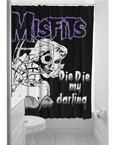 Misfits Shower Curtain