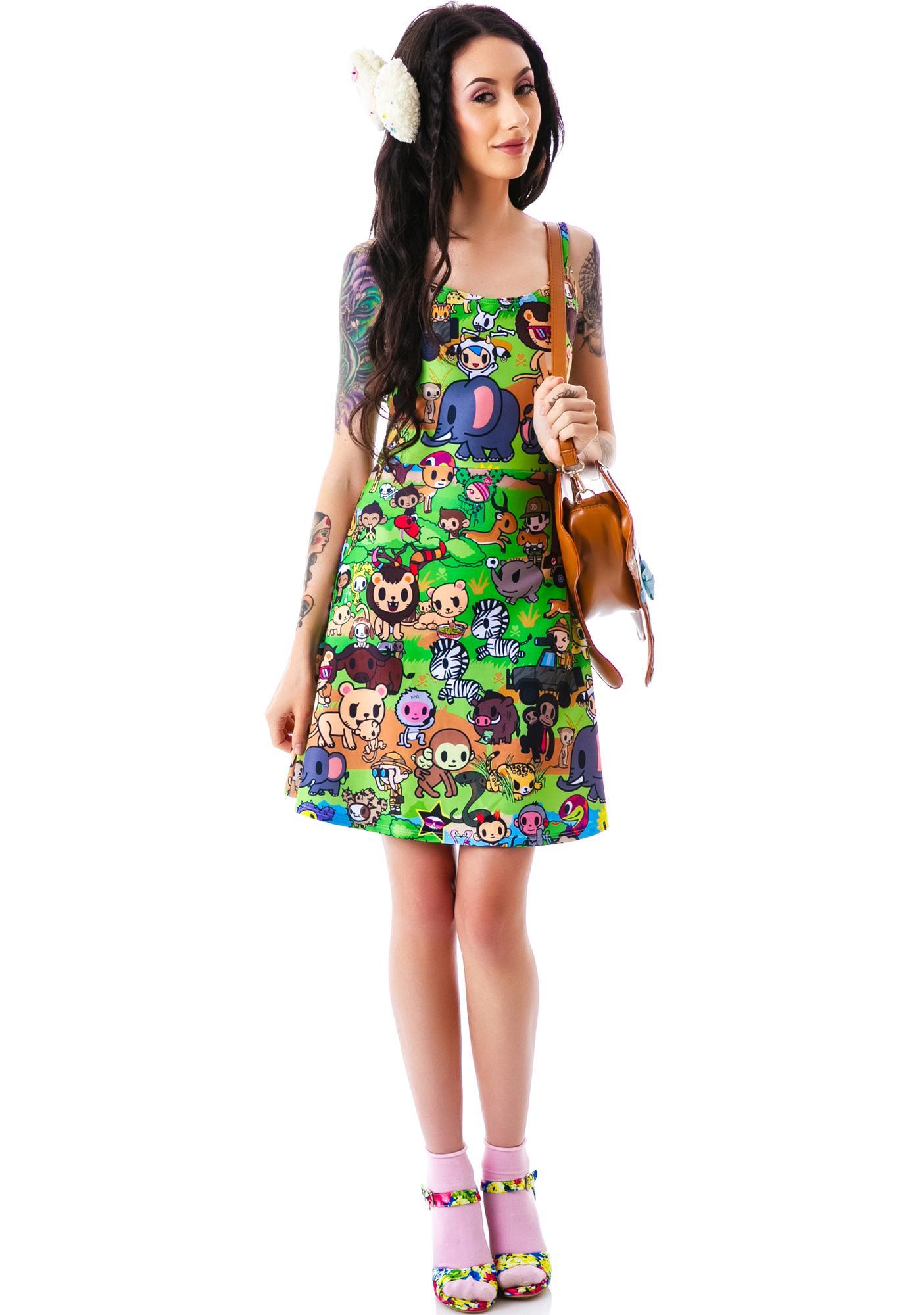 Japan L.A. Japan L.A. x tokidoki Savannah Strappy Dress