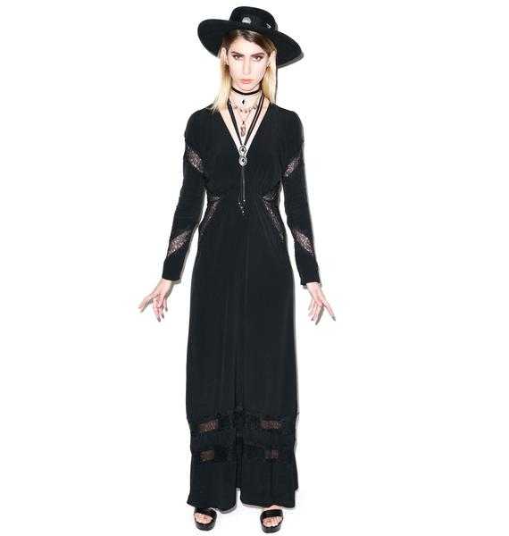 For Love & Lemons Goddess Maxi Dress