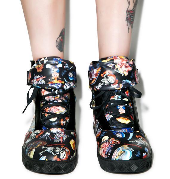Iron Fist Garbage Pail Kids Sneakers